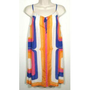 TRINA TURK Halter Swimsuit Coverup Dress 2169E1